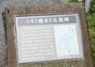 ニラミ櫓説明板4077.JPG
